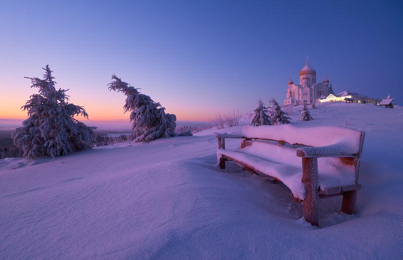 Рассвет у Белой Горы.photo preview