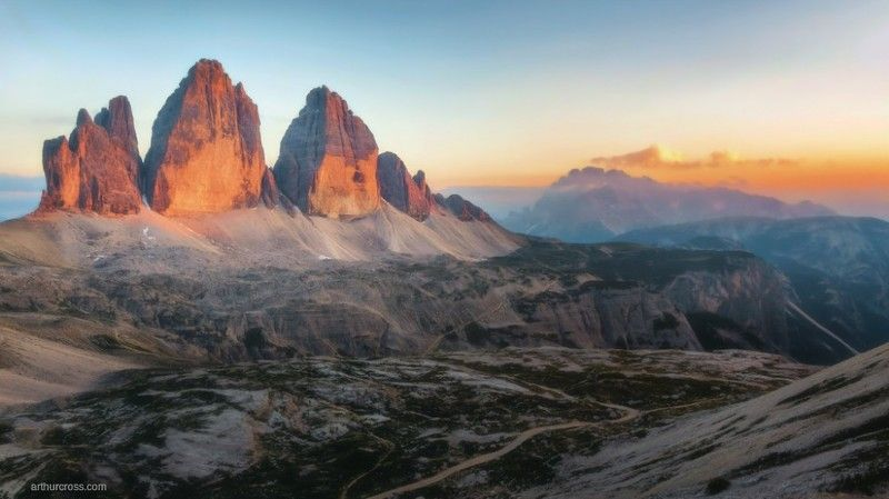 #Italia #Dolomiti #Tre Cime di Lavaredo Tre Cime di Lavaredophoto preview