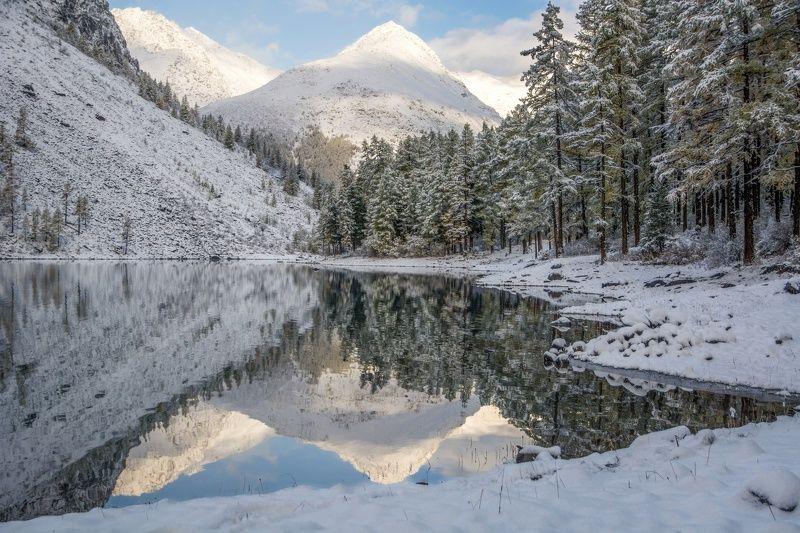 алтай,осень,зима Шавлинские пирамидыphoto preview