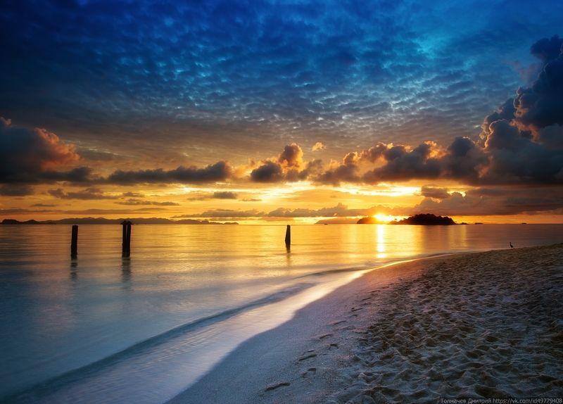 тайланд, туратао, ко липе, липе, толмачев дмитрий, море, андоманское море, остров, закат, рассвет, пляж Утро, день, вечер...photo preview
