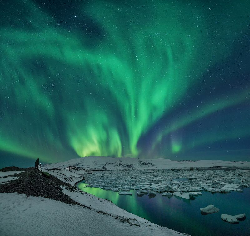Северное сияние Исландия Охота за Северным сияниемphoto preview