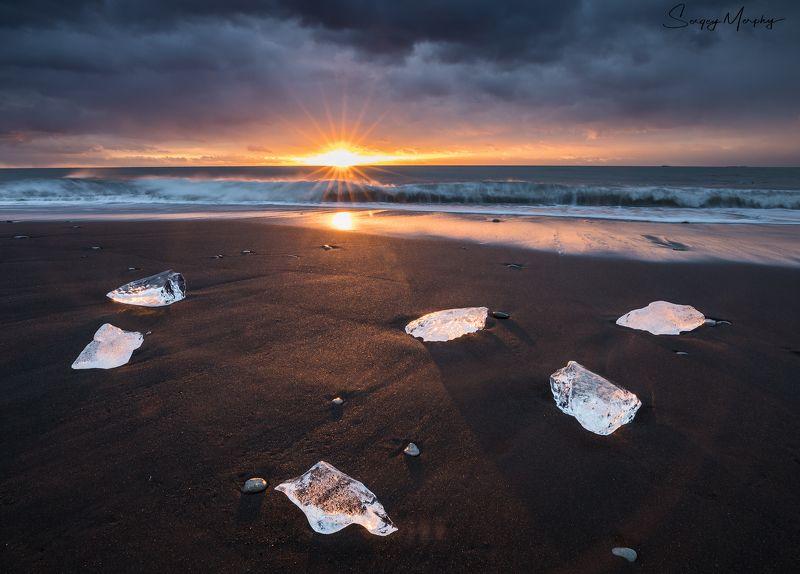 iceland diamond beach jokulsarlon Truly diamond beach.photo preview