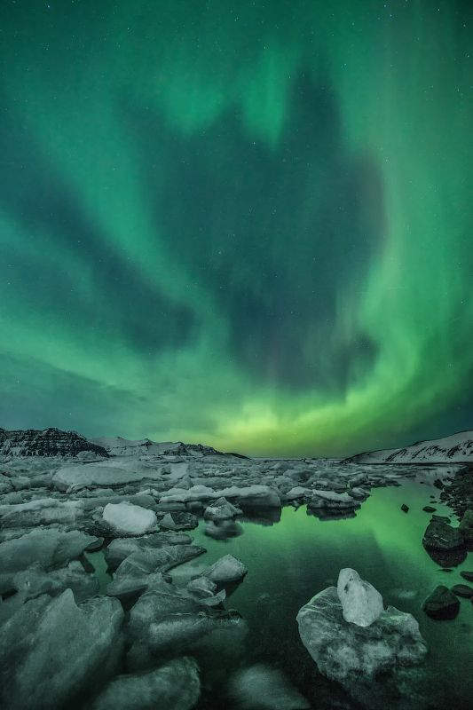 Северное сияние, Исландия Сияниеphoto preview