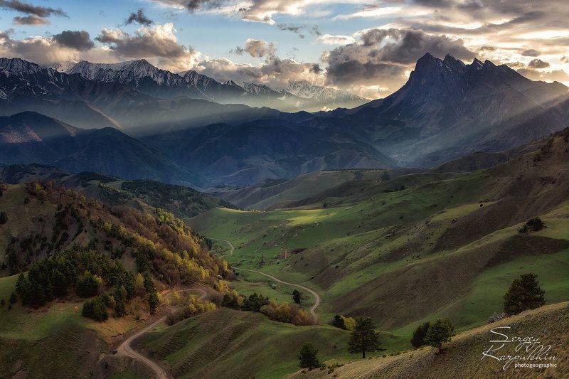 кавказ, ингушетия, заповедник эрзи В горах Ингушетии. Вариант 2.photo preview