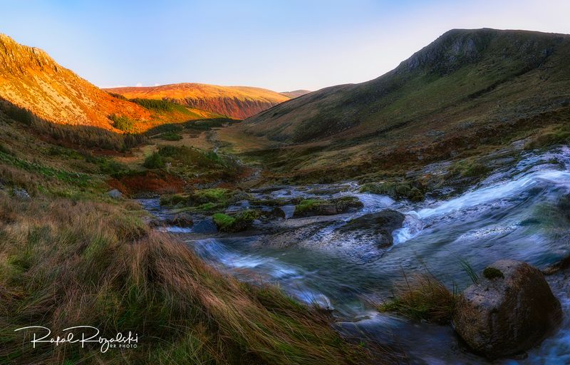 ireland, wicklow, mountains, landscape Glenmalure in Wicklow Mountains - Irelandphoto preview