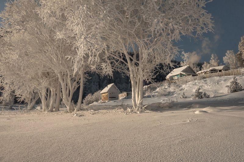 Зима на кордоне.photo preview