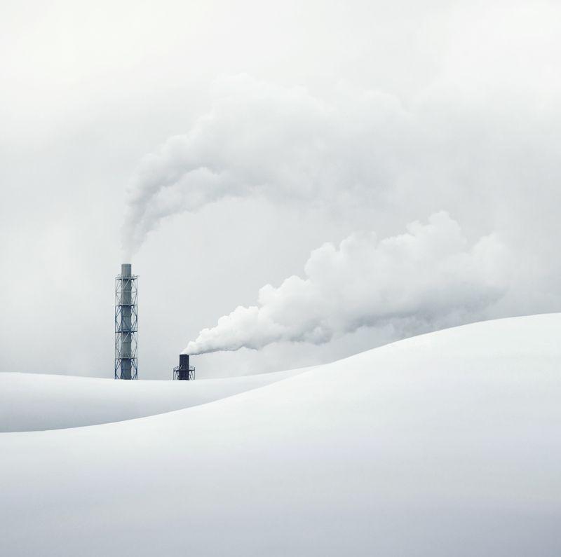 Lithuania, snow, white, sky  *photo preview