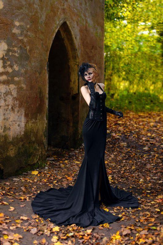 Готика, чёрное,  Татьянаphoto preview