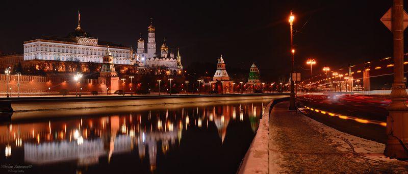 москва, кремль, московский кремль, moscow, kremlin, панорама, зима, городской пейзаж, москва-река, софийская набережная, зима \