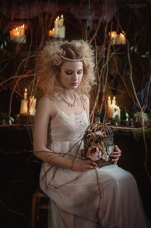 музыка, свечи, модель, принцесса, королева, фея, сказка, ноты ***photo preview