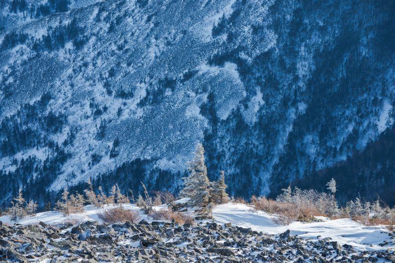 горы, Приморский край, зима, снег \