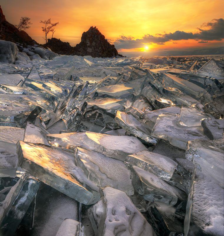лед Байкала...photo preview