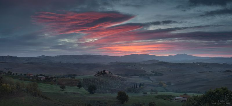 italy, italia, италия, тоскана, toscana, tuscany Val d\'Orciaphoto preview