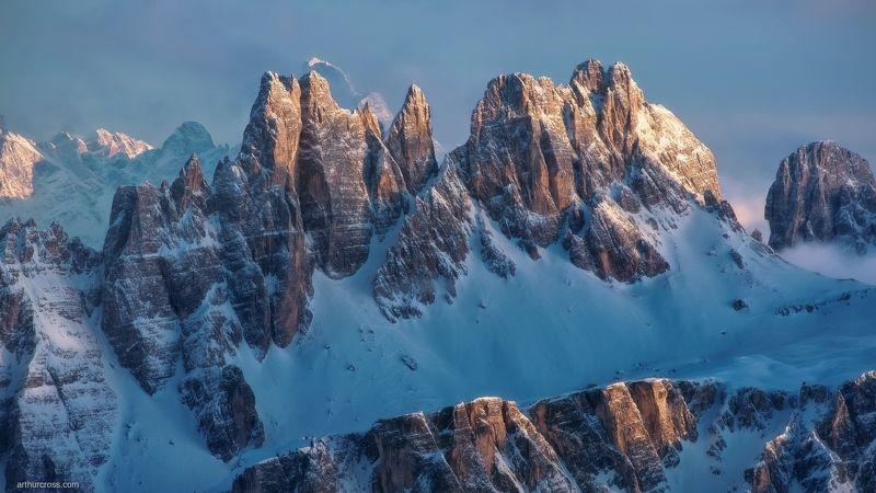 #dolomiti #горы и#талия #доломиты Последние лучи светаphoto preview