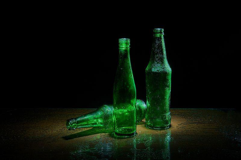 Про свет, капли и зелёные бутылкиphoto preview