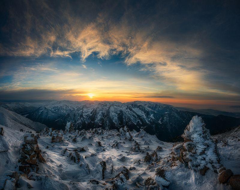 Зимние закатыphoto preview