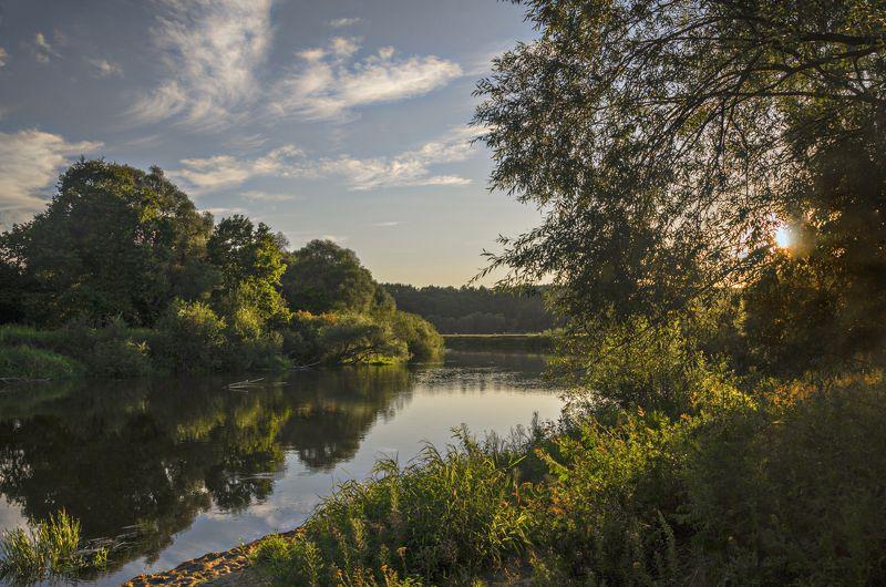 nevant60, березуцкий_александр, природа, красота, пейзаж, путешествия, река Вечерний светphoto preview