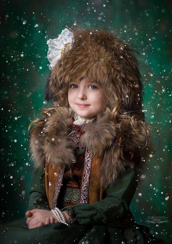 портрет, девочка, семейное фото, алина ланкина, ребенок, зима, арт, художественное фото Лераphoto preview