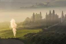 Утро в Тоскане