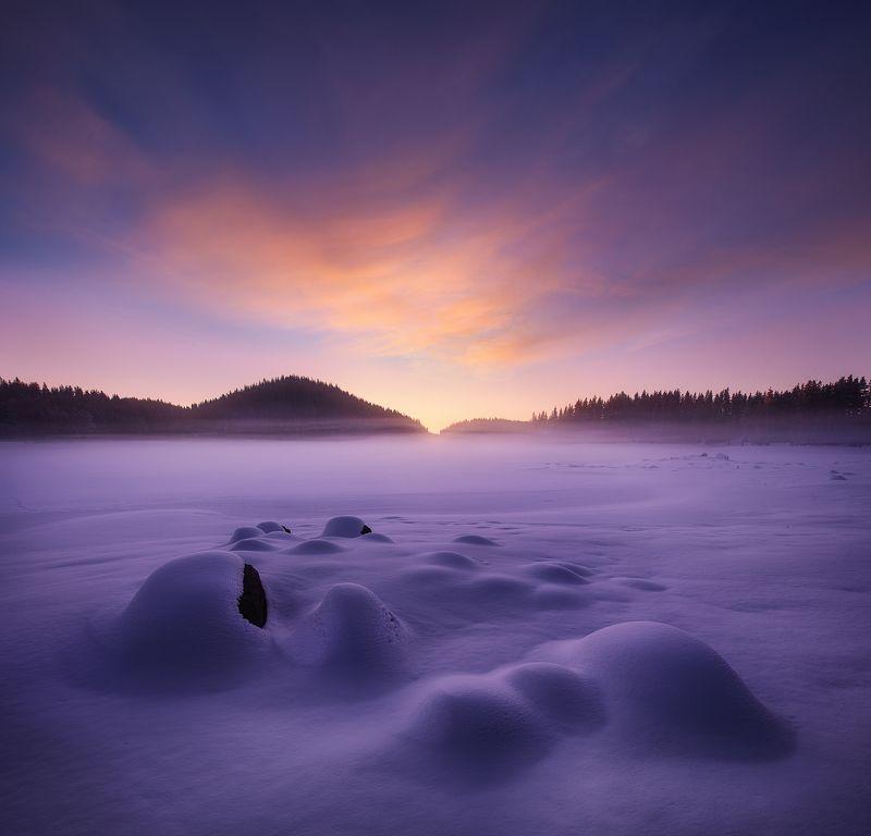болгария Рассвет в горахphoto preview