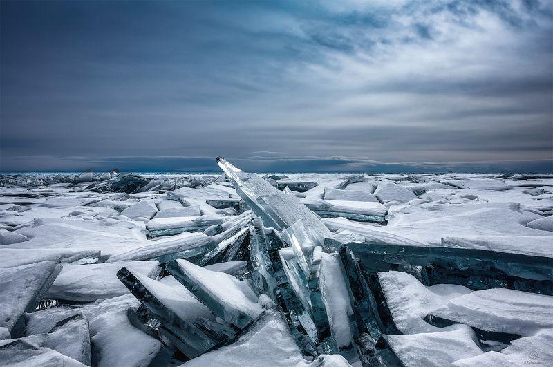 лед, снег, небо Замерзший гигант / Baikalphoto preview