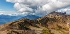 Вид с высоты 2130 метров