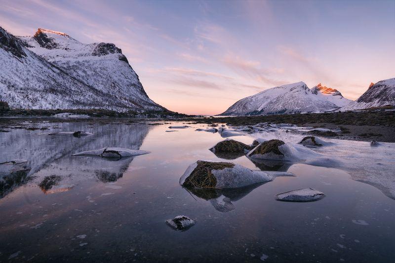 норвегия, сенья, пейзаж, пейзажная фотография, путешествия Во время отливаphoto preview