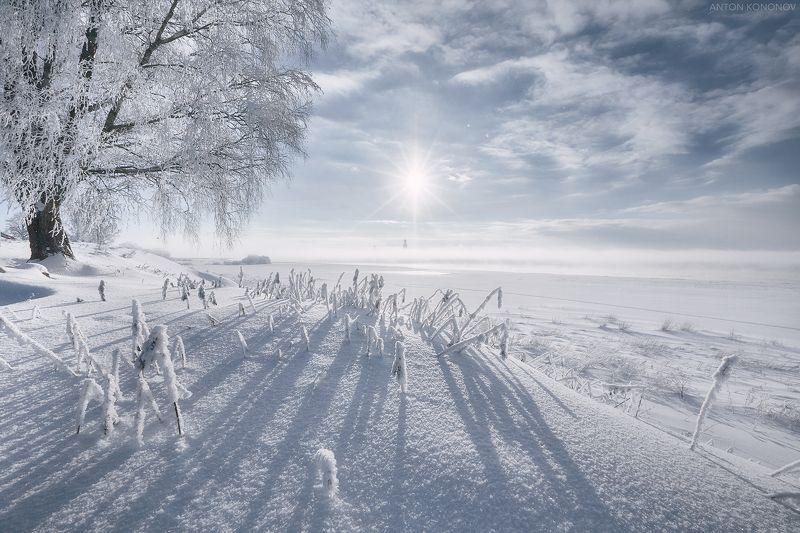 великий, новгород Зимнее солнце...photo preview