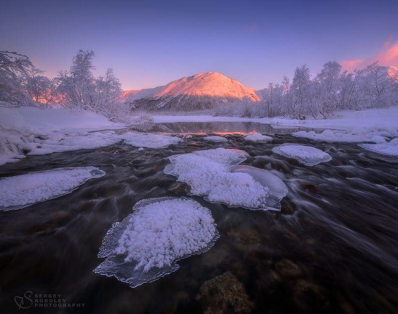 хибины, кольскийполуостров, Бодрящее, морозное утро в Хибинахphoto preview