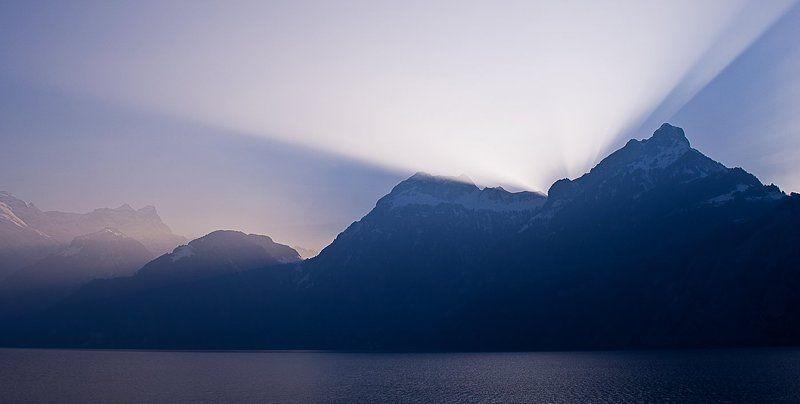 свет, горы, озеро, швейцария Lightphoto preview
