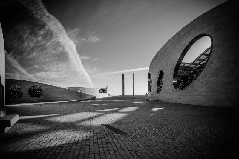 street, art, architecture, lisbon, Portugal, buildings, city, cityscape, Portugal, landscape Champalimaud foundationphoto preview