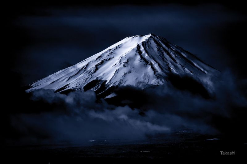 Fuji,Japan,mountain,snow,cloud,beautiful,amazing,blue,white, The snow peakphoto preview