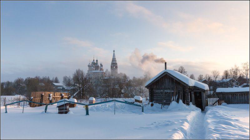россия, ивановская обл, березники, парское Зима в российской глубинкеphoto preview