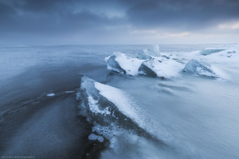 Вечер в ледяном краю.photo preview