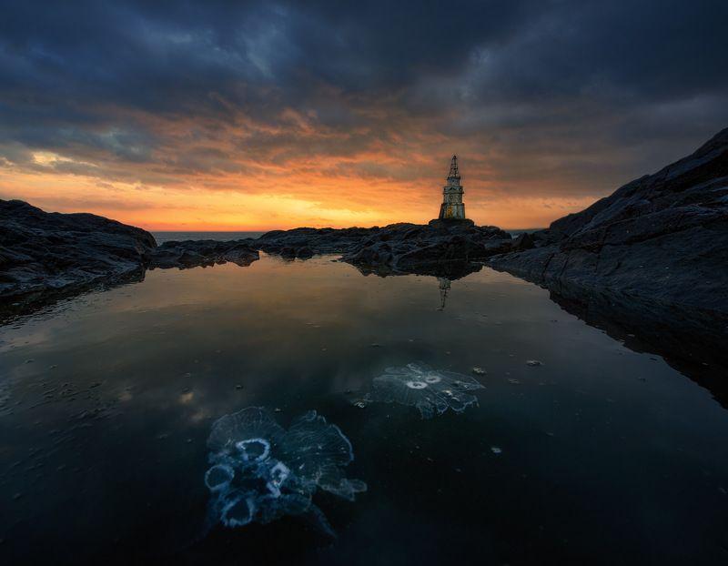 болгария Рассвет с медузамиphoto preview