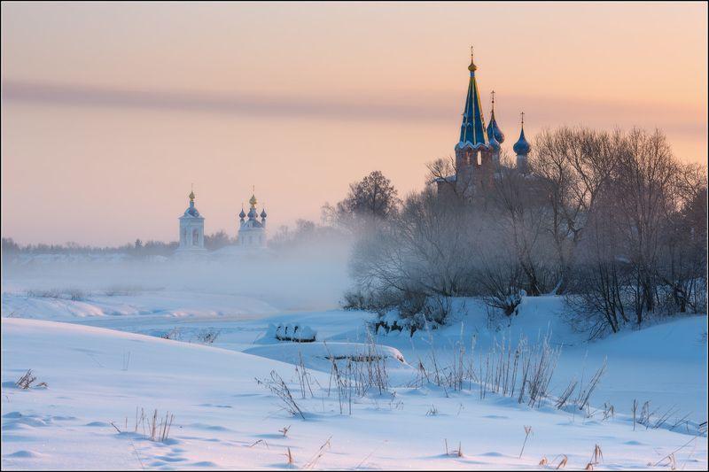 россия, ивановская обл, дунилово Зимние берегаphoto preview