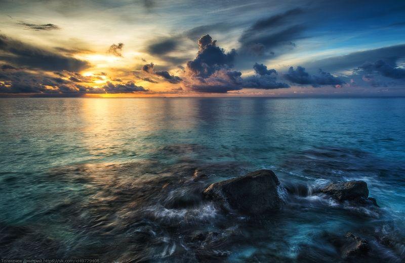 тайланд, туратао, ко липе, липе, толмачев дмитрий, море, андоманское море, остров, закат, рассвет, пляж Почти Айвазовский :)photo preview