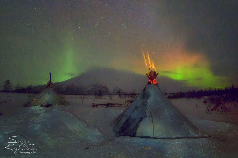 ямал, полярный урал, олени, оленеводы, ненцы Зажигая небоphoto preview