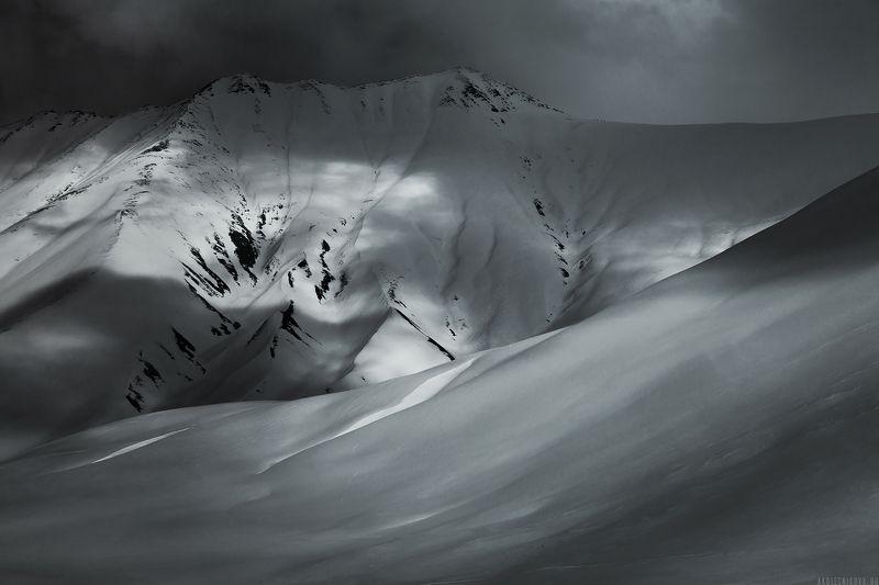 горы, зима, снег, грузия, гудаури, зима, снег, грузия, гудаури Georgian mountainsphoto preview