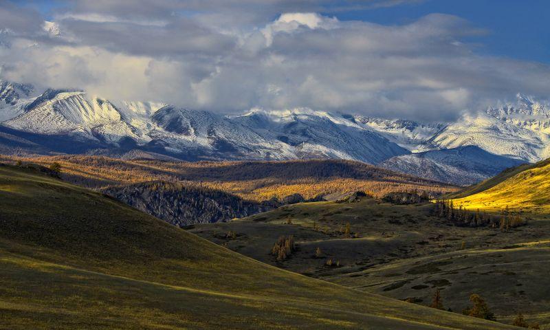 алтай, горный алтай, курай, осень, горы Курайские просторыphoto preview