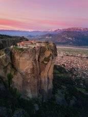 Монастырь Святой Троицы, Метеора, Греция