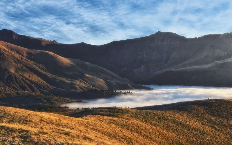 Как-то утром в горах…photo preview