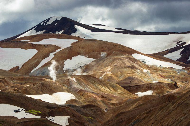исландия,  iceland,  пейзажи исландии, горы исландии, цветные горы исландии, путешествие исландия Icelandic mountains. Исландияphoto preview