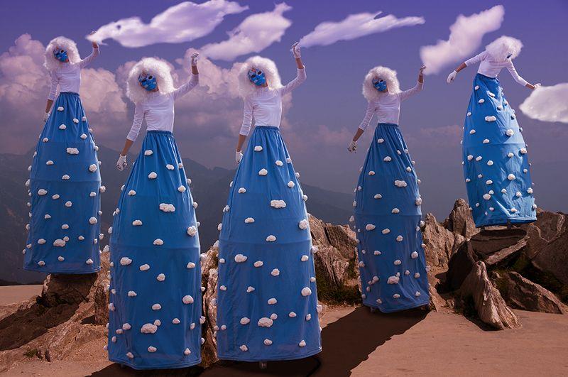 Повелительницы облаков - Lady of the cloudsphoto preview