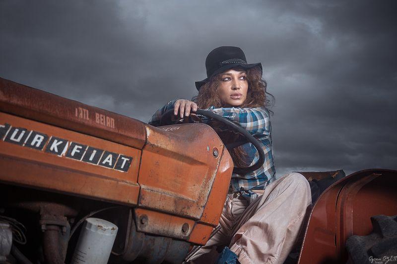 fashion, woman, old, farm, portrait Old Farmphoto preview