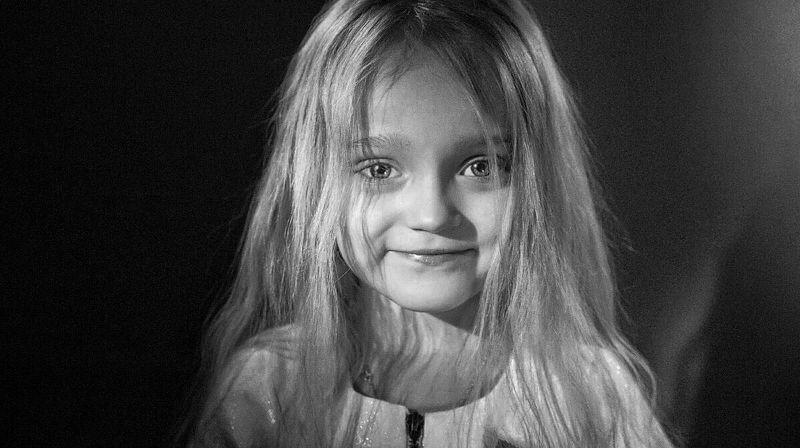 Ребёнок, детство, портрет, чб, киносвет, Голивуд, childhood, bw, bnw, portrait, child Портрет дочериphoto preview