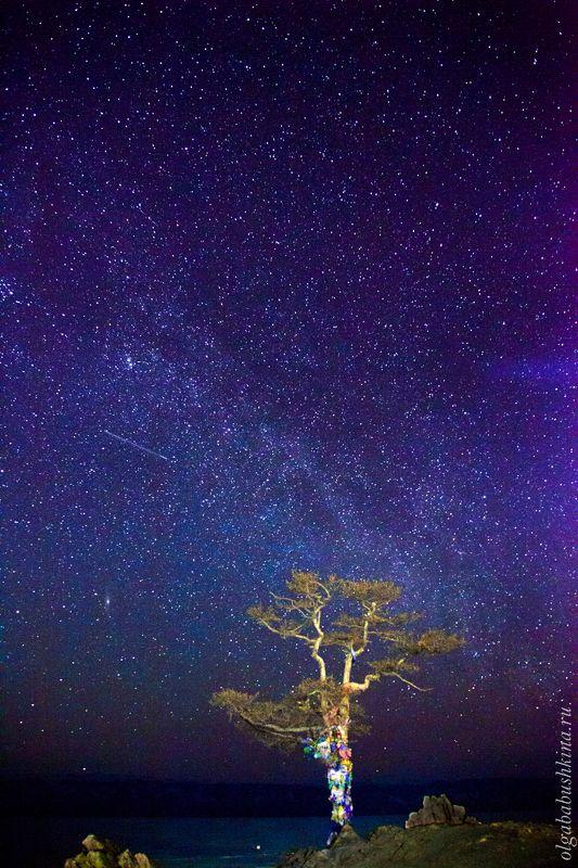 байкал, ночь, звёзды Над Байкалом!photo preview