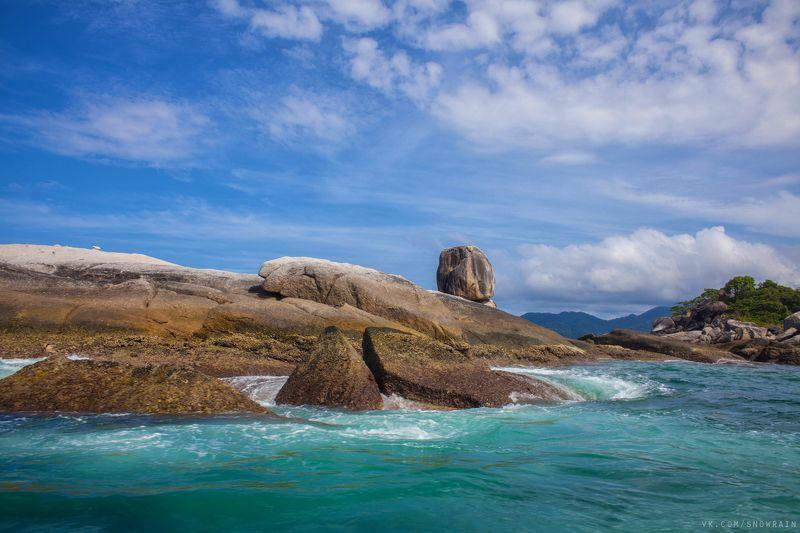 travel, landscape, wildlife, mountain, sea, ocean, sky, clouds, thailand, путешествие, пейзаж, море, океан, горы, пляж, небо, облака, природа, nature ***photo preview