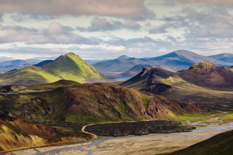 исландия, iceland, landmannalaugar, пейзажи исландии, горы исландии, путешествие исландия Исландияphoto preview