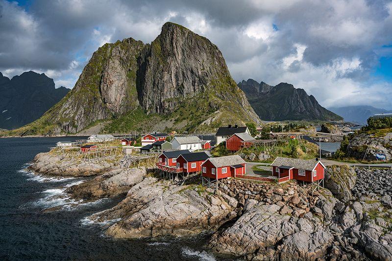 hamnoy, lofoten, mountains, sea, norway Hamnoy Iphoto preview